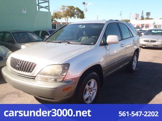 1999 Lexus RX 300 Luxury SUV Lake Worth , Florida 1