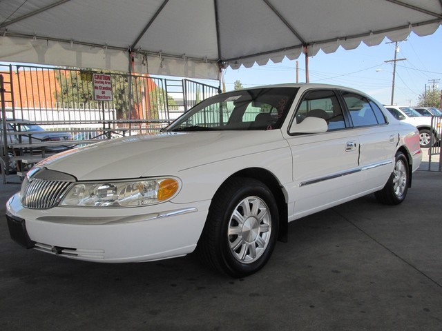 1999 Lincoln Continental Please call or e-mail to check availability All of our vehicles are ava