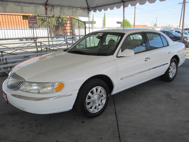 1999 Lincoln Continental This particular vehicle has a SALVAGE title Please call or email to check