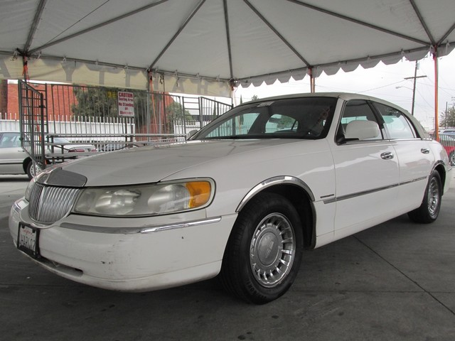 1999 Lincoln Town Car Executive Please call or e-mail to check availability All of our vehicles