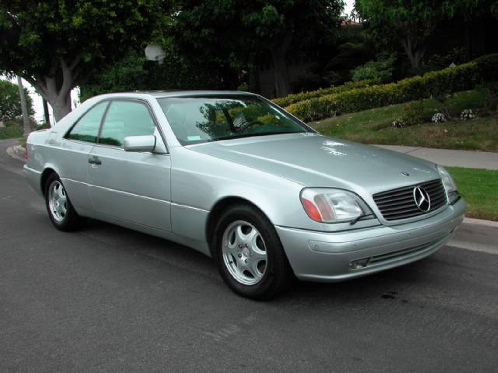 1999 mercedes benz cl500 cl class stunning californian for Mercedes benz california
