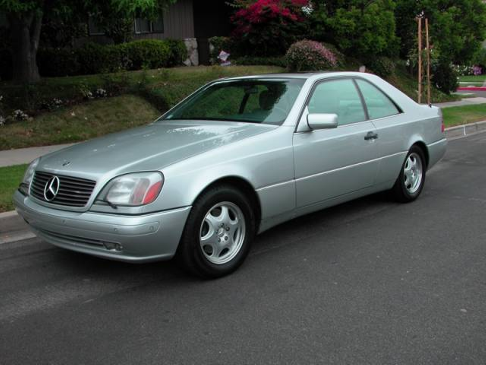 1999 mercedes benz cl500 cl class stunning californian city california auto fitness class benz. Black Bedroom Furniture Sets. Home Design Ideas