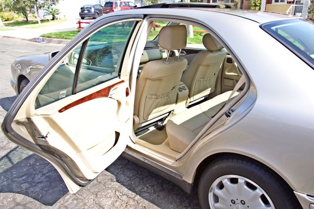 1999 Mercedes-Benz E320 1-OWNER ONLY 62K ORIGINAL MLS SERVICE RECORDS IN MINT CONDITION Woodland Hills, CA 21