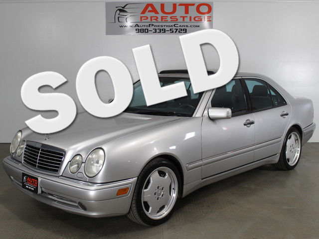 1999 mercedes benz e55 amg matthews nc silver 1999 for Mercedes benz independence blvd