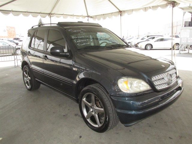 1999 mercedes ml320 cars and vehicles gardena ca for Mercedes benz 1999 ml320