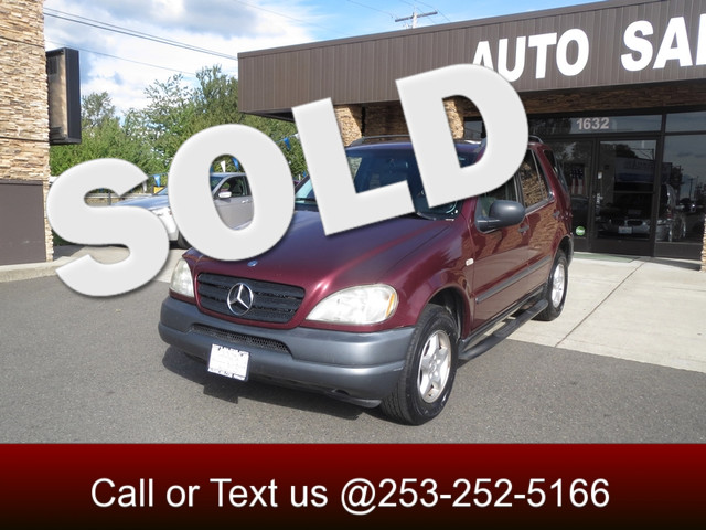1999 Mercedes ML320 AWD The CARFAX Buy Back Guarantee that comes with this vehicle means that you