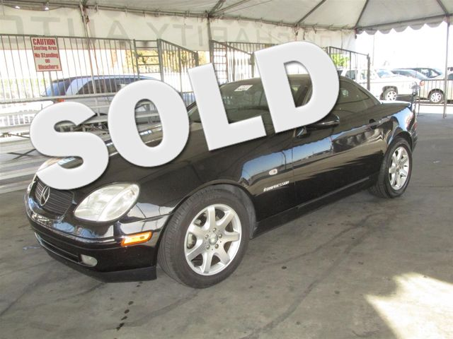 1999 Mercedes SLK230 Please call or e-mail to check availability All of our vehicles are availa