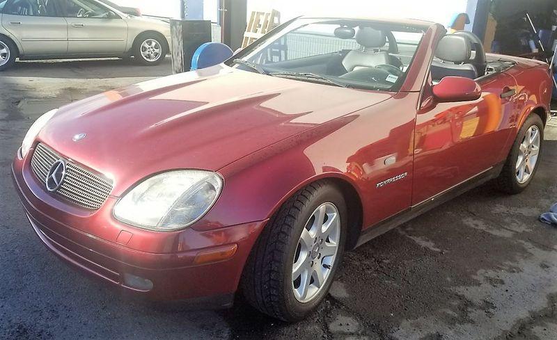 1999 Mercedes Benz SLK230 | Las Vegas, NV | Below Book Vehicles