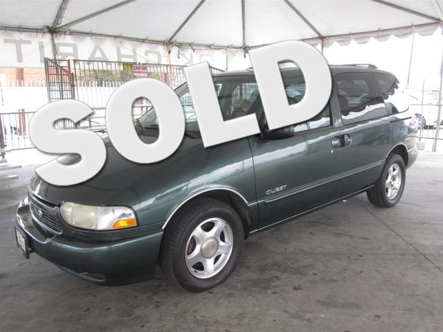 1999 Nissan Quest SE This particular Vehicle comes with 3rd Row Seat Please call or e-mail to che