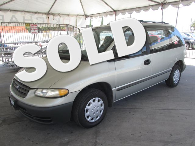1999 Plymouth Voyager Base This particular Vehicle comes with 3rd Row Seat Please call or e-mail