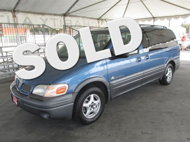 1999 Pontiac Montana Please call or e-mail to check availability All of our vehicles are availa
