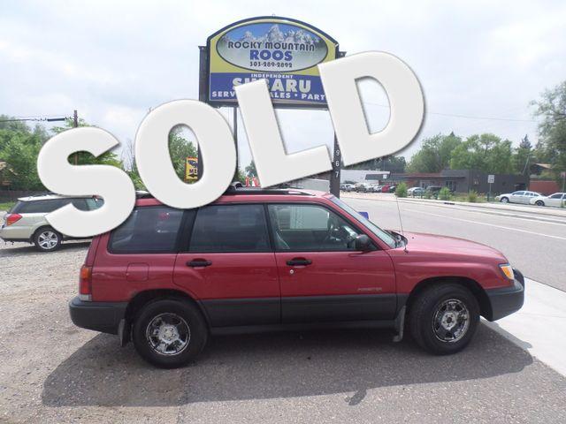 1999 Subaru Forester L Golden, Colorado 0
