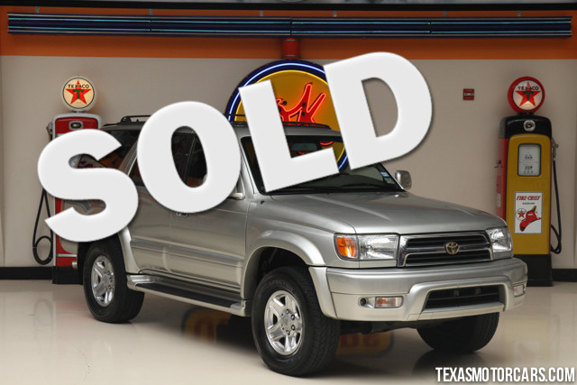 1999 Toyota 4Runner Limited Financing is available with rates as low as 29 wac Get pre-approve