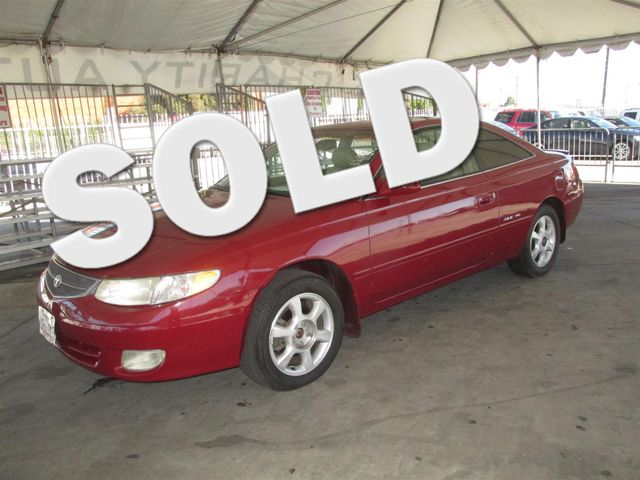 1999 Toyota Camry Solara SLE Please call or e-mail to check availability All of our vehicles ar