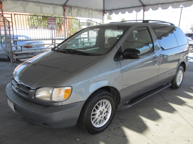 1999 Toyota Sienna LE This particular Vehicles true mileage is unknown TMU Please call or e-mai