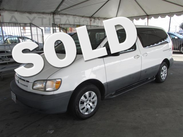 1999 Toyota Sienna CE This particular Vehicle comes with 3rd Row Seat Please call or e-mail to ch