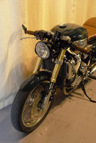 1999 Triumph TRIUMPH THUNDERBIRD SPORT CUSTOM  BUILT TO ORDER BRITISH CAFE RACER MOTORCYCLE Cocoa, Florida 31