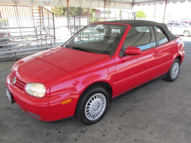 1999 Volkswagen New Cabrio GL Please call or e-mail to check availability All of our vehicles ar