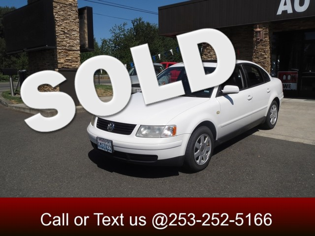 1999 Volkswagen Passat GLS The CARFAX Buy Back Guarantee that comes with this vehicle means that y