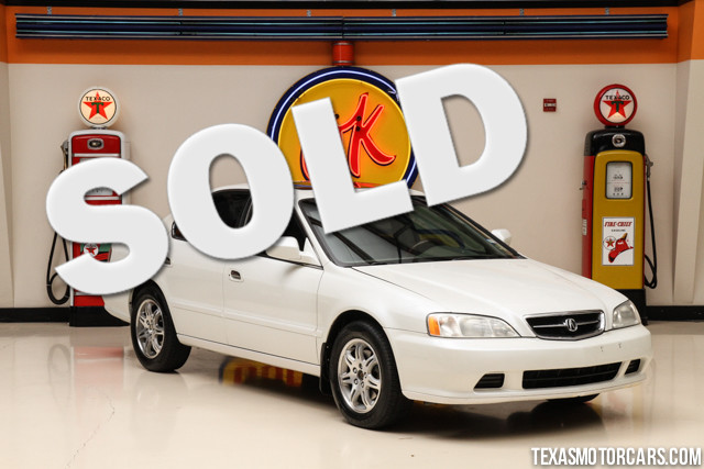 2000 Acura TL 2000 Acura 32TL This car was a trade in at our dealership and is a cash car It