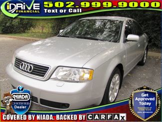 2000 Audi A6  | Louisville, Kentucky | iDrive Financial in Lousiville Kentucky