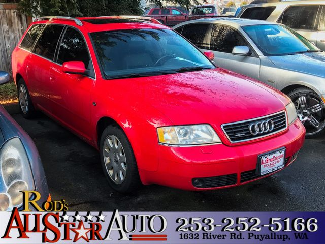 2000 Audi A6 AWD The CARFAX Buy Back Guarantee that comes with this vehicle means that you can buy