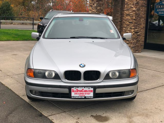 2000 BMW 5 Series 528i CARFAX One-Owner Silver 2000 BMW 5 Series 528i RWD 5-Speed Automatic with