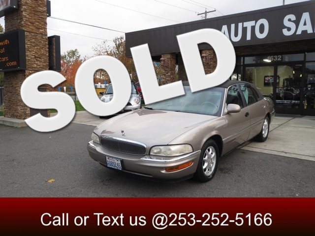2000 Buick Park Avenue The CARFAX Buy Back Guarantee that comes with this vehicle means that you c