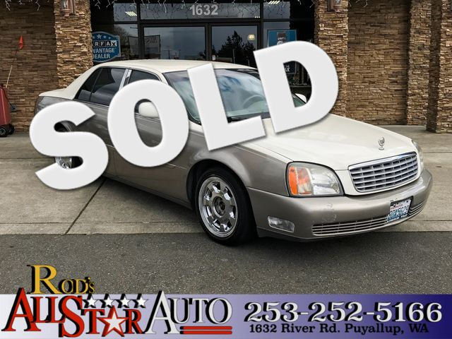 2000 Cadillac DeVille The CARFAX Buy Back Guarantee that comes with this vehicle means that you ca