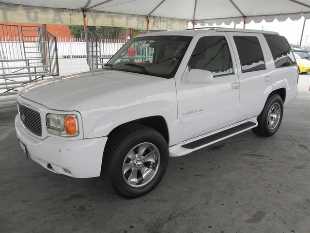 2000 Cadillac Escalade Please call or e-mail to check availability All of our vehicles are avai