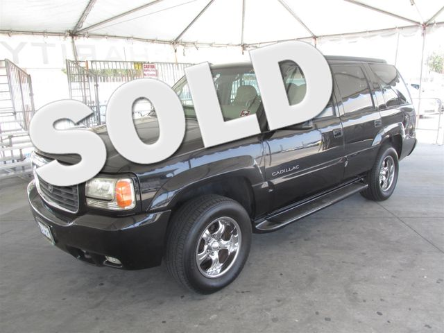 2000 Cadillac Escalade This particular Vehicles true mileage is unknown TMU Please call or e-m