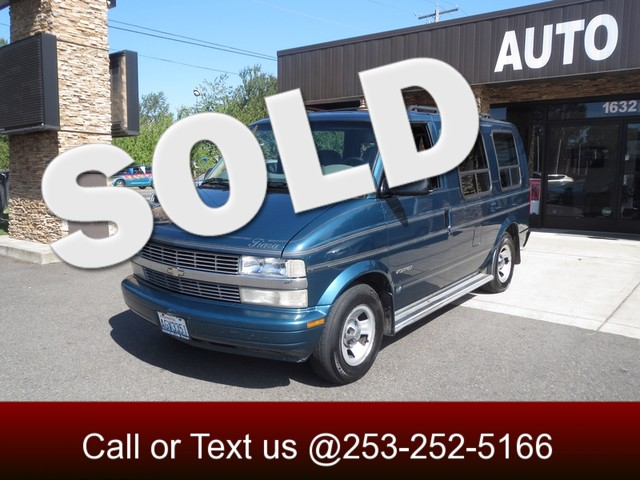 2000 Chevrolet Astro Cargo Van wYF7 The CARFAX Buy Back Guarantee that comes with this vehicle me