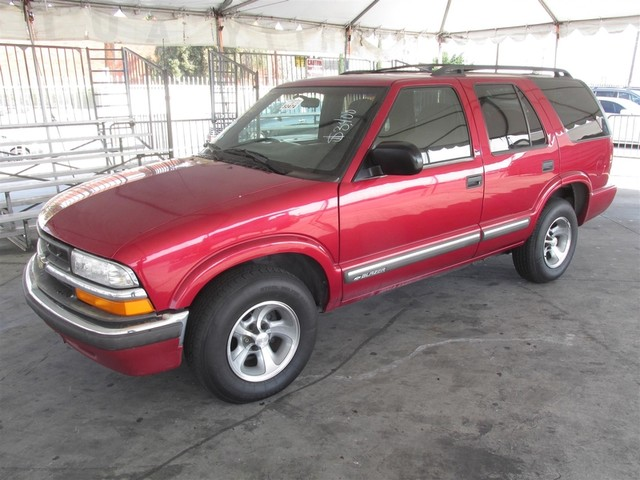 2000 Chevrolet Blazer LS Please call or e-mail to check availability All of our vehicles are av
