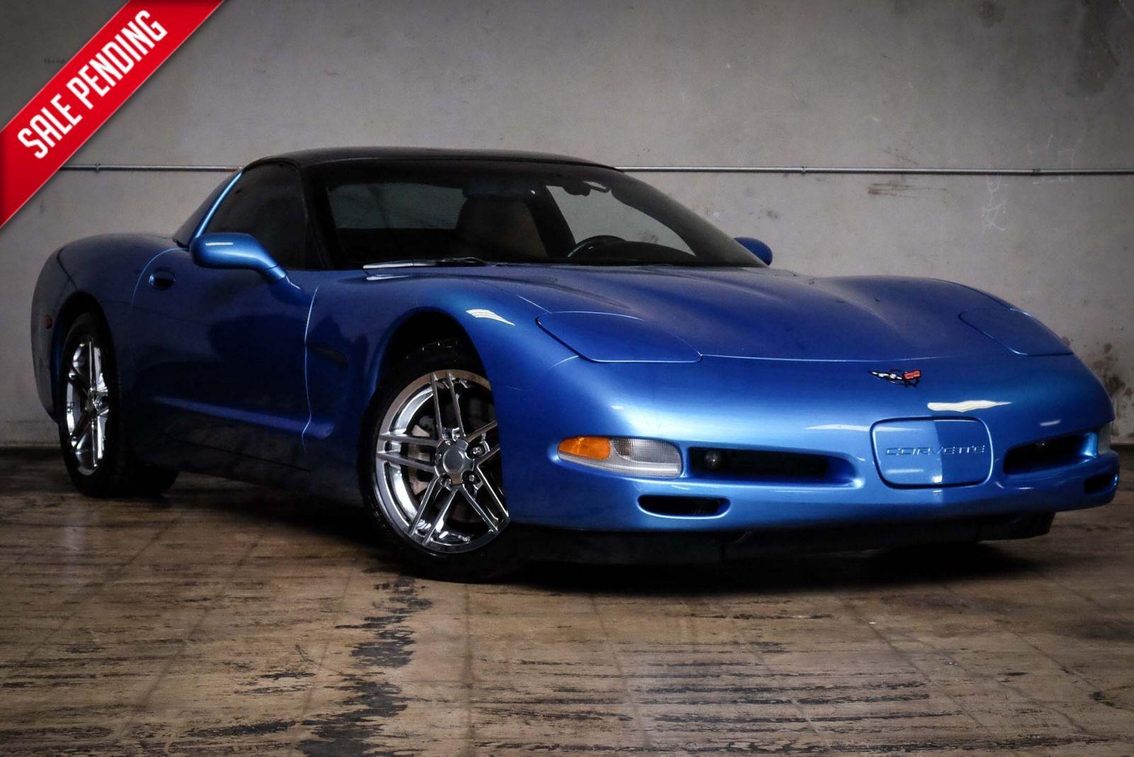 2000 Blue Chevrolet Corvette   | C5 Corvette Photo 1