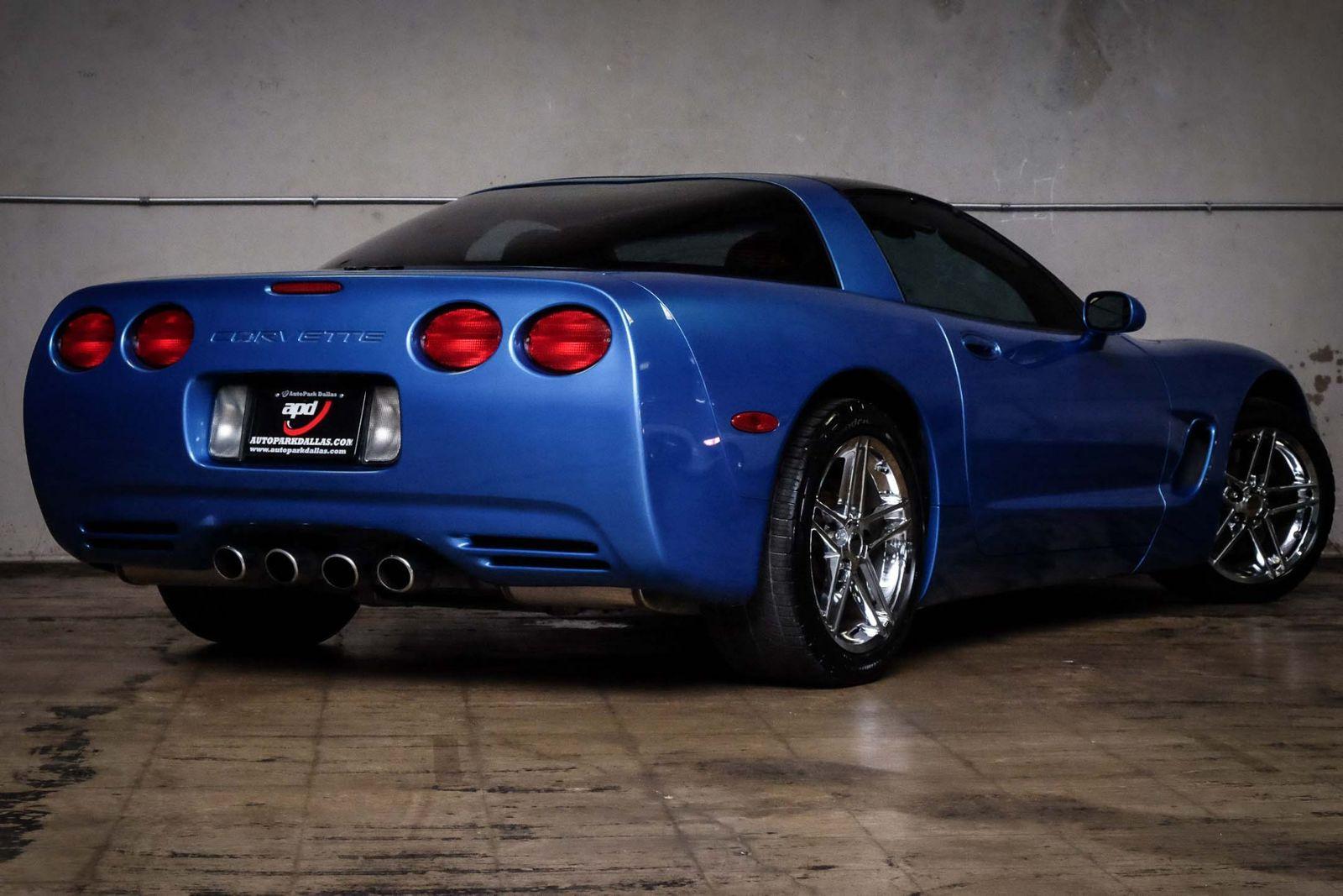 2000 Blue Chevrolet Corvette   | C5 Corvette Photo 6