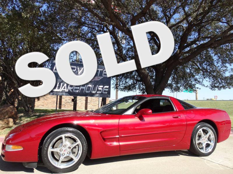 2000 Chevrolet Corvette Coupe 1SB Pkg, Auto, HUD, Polished Wheels 47k!   Dallas, Texas   Corvette Warehouse