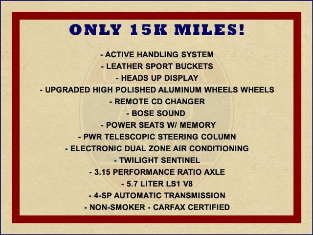 2000 Chevrolet Corvette Convertible - ONLY 15K MILES! Mooresville , NC 1