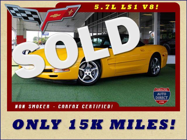 2000 Chevrolet Corvette Convertible - ONLY 15K MILES! Mooresville , NC 0
