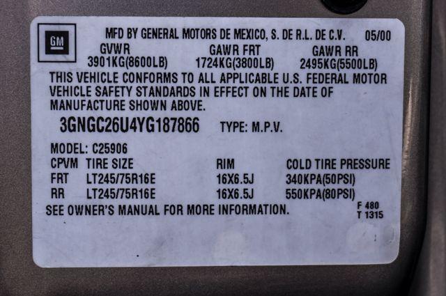 2000 Chevrolet Suburban LT 2500 - AUTO - 3RD ROW - DVD - TOW PKG Reseda, CA 38