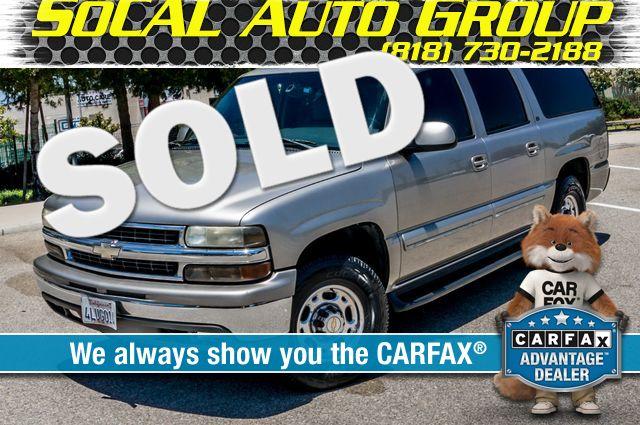 2000 Chevrolet Suburban LT 2500 - AUTO - 3RD ROW - DVD - TOW PKG Reseda, CA 0