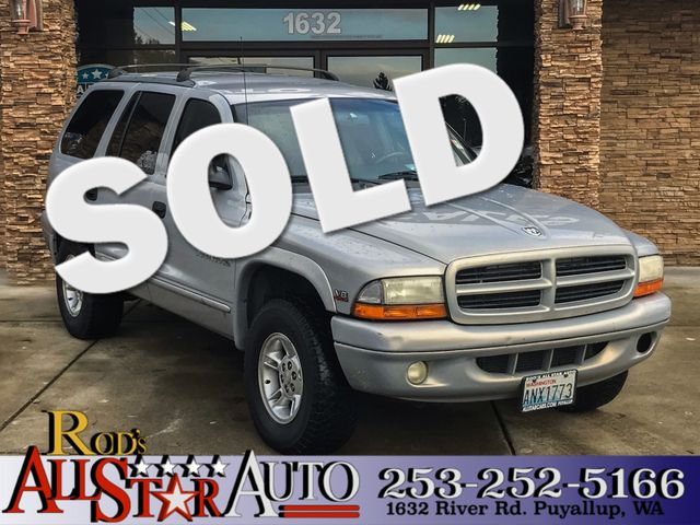 2000 Dodge Durango 4WD The CARFAX Buy Back Guarantee that comes with this vehicle means that you c