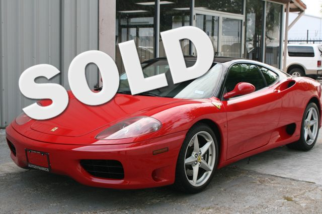 2000 Ferrari 360 Modena F1 Houston, Texas 1