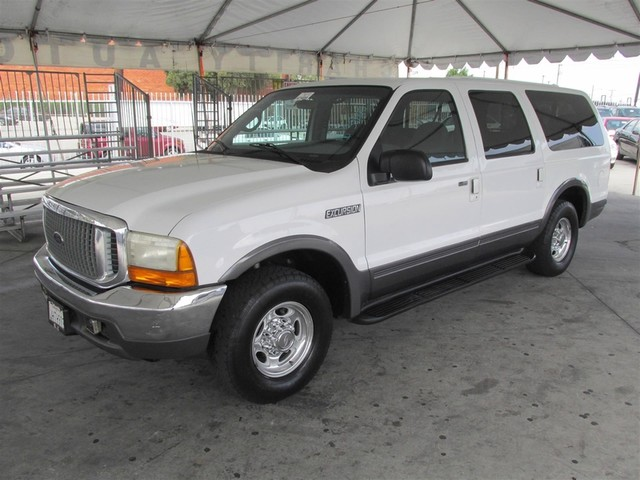 2000 Ford Excursion XLT This particular Vehicle comes with 3rd Row Seat Please call or e-mail to