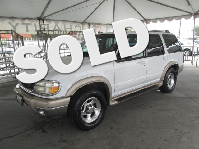 2000 Ford Explorer Eddie Bauer Please call or e-mail to check availability All of our vehicles
