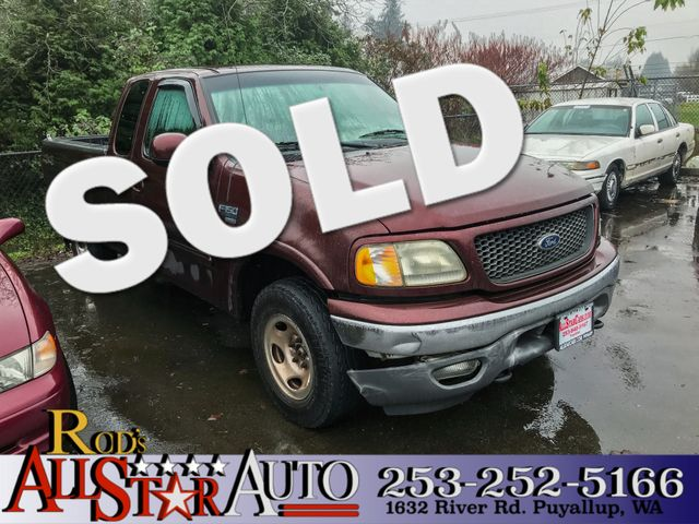 2000 Ford F-150 XLT 4WD The CARFAX Buy Back Guarantee that comes with this vehicle means that you