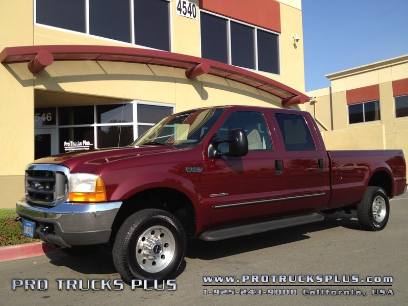 2000 Ford F250 Crew Cab 4x4  XLT 7.3 Powerstroke Turbo Diesel Long Bed in Livermore California