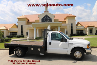 2000 Ford F350 Regular Cab Dually Xl Flatbed 7.3 Diesel Serviced Detailed in Baton Rouge  Louisiana
