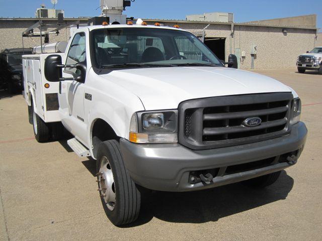2000 Ford Super Duty F450 Bucket Truck, 7.3 Turbo Diesel, Plano, Texas 1