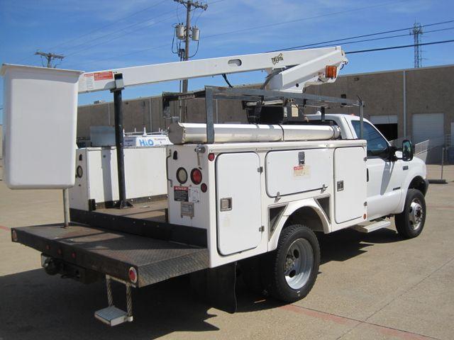 2000 Ford Super Duty F450 Bucket Truck, 7.3 Turbo Diesel, Plano, Texas 11