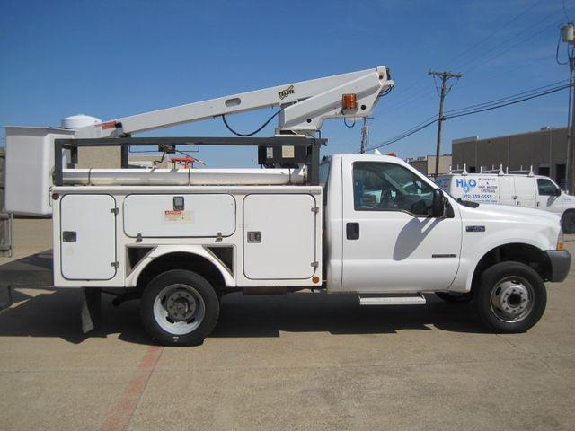 2000 Ford Super Duty F450 Bucket Truck, 7.3 Turbo Diesel, Plano, Texas 6